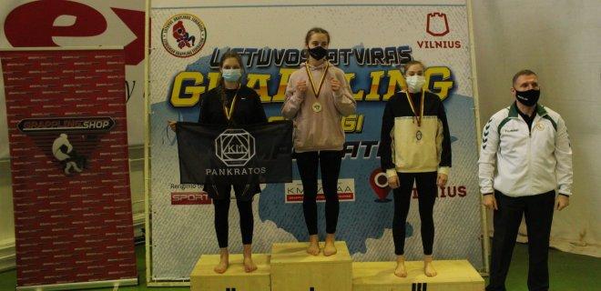 Lijana Lipinskaitė 1 vieta.
