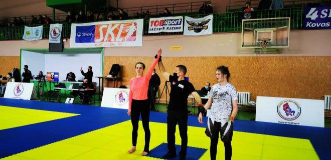 Lijanos Lipinskaitės  pergalė finalinėje kovoje.