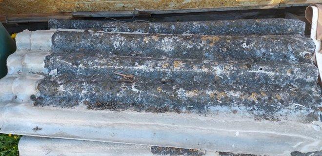 Regionuose veikiančios didelių gabaritų atliekų surinkimo aikštelės iš vieno gyventojo (rinkliavos mokėtojo) per metus nemokamai priimama iki 15 asbestinio šiferio lapų. / Redakcijos nuotr.