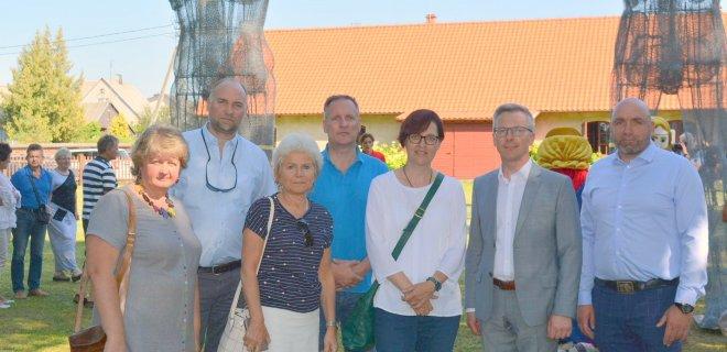 Paskutinis susitikimas su Berlyno Lichtenbergo delegacija per Jurbarko krašto šventę 2019 m. rugpjūčio mėn. / Jurbarko r. sav. nuotr.