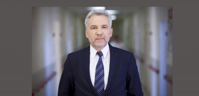 Gyd. akušeris-ginekologas Virgilijus Rudzinskas sako, jog moteris turi būti informuota, kad gebėtų priimti laisvą ir atsakingą sprendimą dėl savo krizinio nėštumo baigties. / . VšĮ LSMU Kauno ligoninės nuotr.