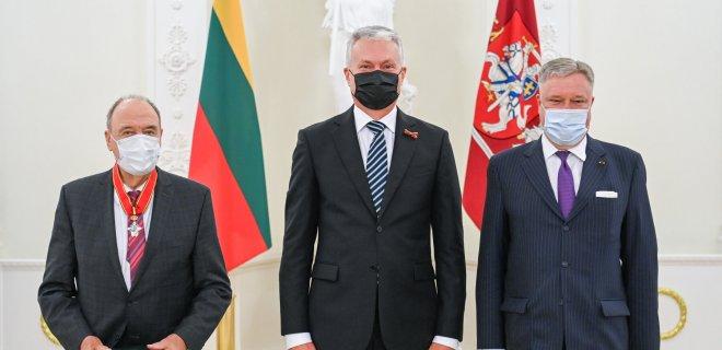 Prezidentūros kanceliarija. / R. Dačkaus nuotr.