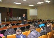 Savivaldybėje lankėsi Jurbarko Naujamiesčio pagrindinės mokyklos mokiniai