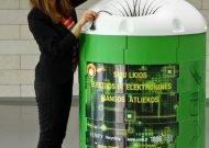 Elektros ir elektroninės įrangos atliekoms – tūkstančio konteinerių tinklas