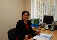 Jurbarko valstybinės maisto ir veterinarijos tarnybos vyriausioji specialistė-maisto produktų inspektorė Dalytė Marcinkevičienė.
