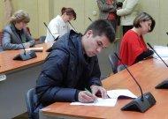 Naujienos iš Konstitucijos egzamino antrojo etapo dalyvio Simono Mikšio
