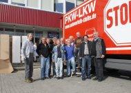 Jurbarką pasiekė 5 sunkvežimiai su humanitarine pagalba