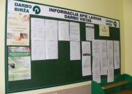 Jurbarko rajone nedarbo lygis didžiausias Tauragės apskrityje