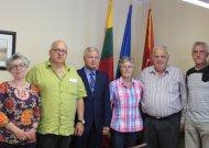 Tarptautinės žygeivių lygos ekspertų komisija susitiko su rajono meru