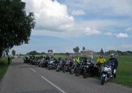 Lėšas onkologijos centrui statyti renkantys motociklininkai užsuks ir į Jurbarką
