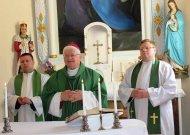 Viešvilės tikinčiuosius aplankė Telšių vyskupas