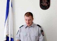 Jurbarko rajono policijos komisariate - naujas pareigūnas
