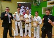 Jurbarke pirmą kartą vykusiame jaunimo karatistų čempionate - net du jurbarkieči