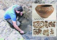 Lietuvos nacionalinio muziejaus Restauravimo centre baigta restauruoti urna, kurią R.Šiaulinskas rado 2001 m. kasinėdamas Naudvario kapinyną. Šis radinys - labai retas. Tai vienintelė urna, datuojama I tūkst. pr. Kr., rasta tame regione ir dekoruota tokiu ornamentu. Iš viso buvo atgabenta 140 trapių, išsisluoksniavusių įvairaus dydžio vienos urnos šukių. Restauravimo metu jos buvo nuvalytos, sutvirtintos polimeriniu tirpalu