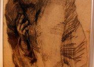Šiame piešinyje įamžintas Kauno benamis Apuokas. Spėjama, kad jis jau išėjęs Anapilin