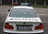 Jurbarko pareigūnai patruliavo ir Šakių rajone