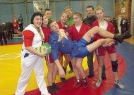 Iš Lietuvos sambo jaunių pirmenybių - su penkiais medaliais