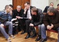 """M. Baranauskas kartu su policininkų komanda """"Temidė"""" žinias tikrinasi ir """"Mūsų laiko"""" protų mūšiuose, kurie vyksta Jurbarko rajono policijos komisariate. Po keturių susitikimų tarp 12 komandų """"Temidė"""" yra antroje  vietoje."""
