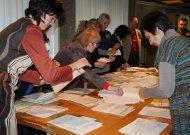 Balsų skaičiavimas Dariaus ir Girėno apylinkėje