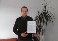 Jurbarko saugaus eismo centras gavo licenciją ir pradėjo organizuoti pavojingų krovinių vežimo (ADR) kursus. Nuotraukoje šio centro savininkas Česlovas Blažys.
