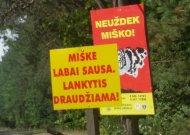 Jurbarko rajono miškuose lankytis DRAUDŽIAMA