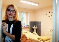 Kristina Zaksienė personalo vadovės pareigas vienoje iš didžiausių Jurbarke bendrovių iškeitė į savo verslą - atidarė kosmetologijos kabinetą.