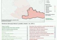 Žemėlapyje - profesijos, kurių trūks 2016 metais Jurbarko rajone. Pažymėtos ir tos, kurių darbuotojų yra ir taip per daug.