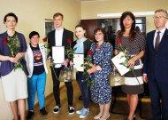 Europos čempionatų prizininkams dėkojo už pavyzdį jaunimui