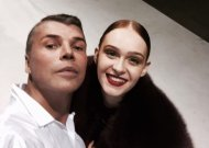 Viktorija Vilkelytė su Juozu Statkevičiumi.