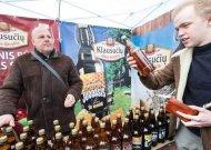 Kaziuko mugėje Vilniuje - ir aludariai iš Klausučių