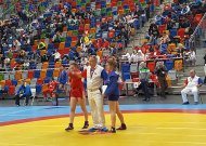 Europos sambo jaunimo čempionate - jurbarkietės sidabro medalis