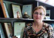 Bibliotekos direktorė išeina į pensiją