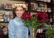Gėlių salono šeimininkę nustebino užsakymas iš Anglijos