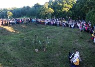 Tautiška giesmė skambėjo ir ant rajono piliakalnių, ir Lenkijos pasieny (VIDEO)