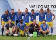 """Jurbarkiečiai su """"Fortitudo"""" futbolo festivalyje užėmė trečią vietą"""
