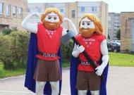 Miesto stadiono atidarymo proga atgaivino legendinius brolius