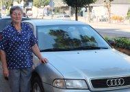 Gėlės ir vairavimas – senjorės jurbarkietės Adelės mėgstamiausi užsiėmimai