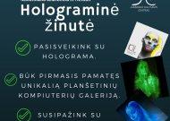 Holograminė žinutė Jurbarko miesto visuomenei