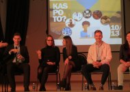 Gimnazistams – sėkmingo Jurbarko jaunimo patarimai (VIDEO)