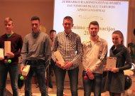 Jurbarko jaunimo metų finalas. 6 nominacijos, 23 nominantai
