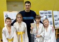 iš kairės į dešinę: Deividas Barzdaitis, Diana Kondratavičiūtė, Rapolas Povilauskas ir Laurynas Brigadierius.