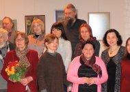 Banaitukai atidarė parodą Mokytojos šimtas penktosioms gimimo metinėms