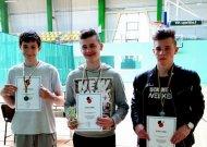 Mokiniai varžėsi stalo teniso turnyre