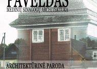 Išnykęs ir dingstantis paveldas, medinių sinagogų architektūra