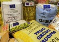 Bus dalijami maisto produktai nepasiturintiems Jurbarko miesto gyventojams