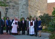 Su Lietuvos draugais šventėme  Baltijos šalių nepriklausomybės atgavimo 100-metį