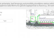 Savivaldybės administracija klausia, ar reikia rengti automobilių stovėjimo aikštelę Nemuno gatvėje  (sudalyvauk apklausoje)
