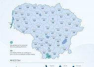 Paskelbė, kiek savivaldybės išleidžia socialinėms paslaugoms nuo savo biudžeto