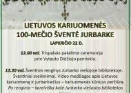 Kviečia į Lietuvos kariuomenės 100-mečio šventę Jurbarke