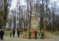 Savivaldybės vadovų sveikinimas Lietuvos kariuomenės dienos proga